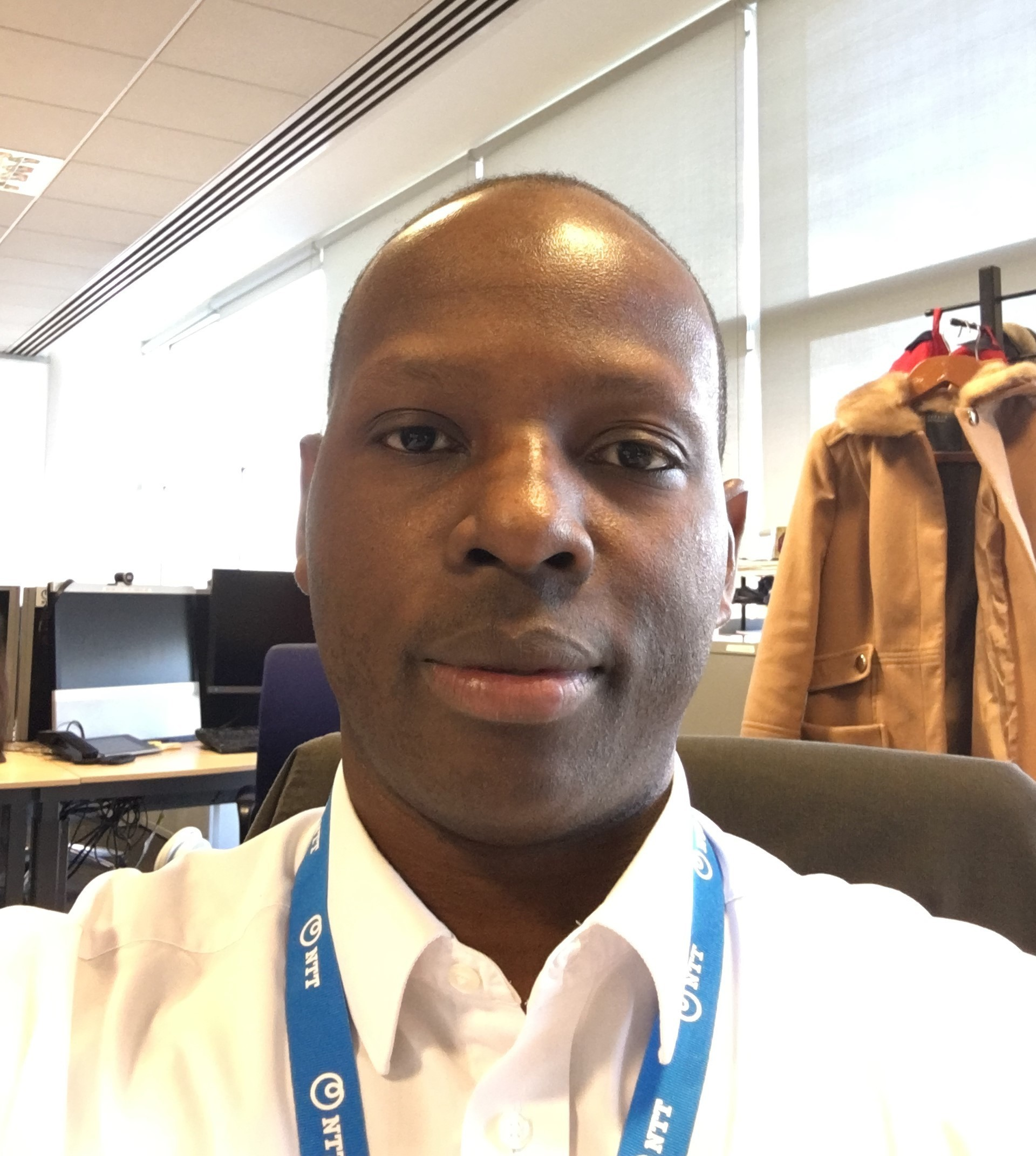 Support Transition Manager Collins Oryem